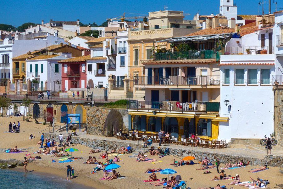 Platja de Canadell in Calella de Palafrugell
