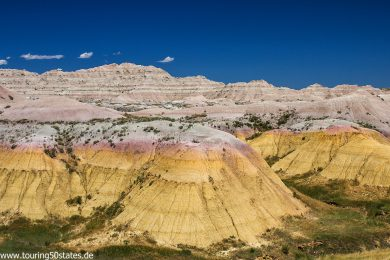 Badlands Scenic Byway - Yellow Mounds Overlook