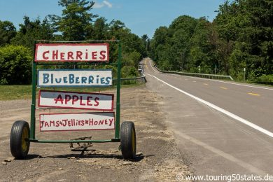 Indian Farm Stand am Highway 96a, NY