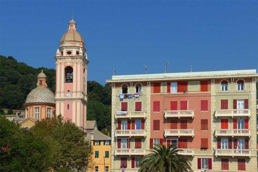 Varazze - Stadtbild, Italien und Spanien - Herbsttour