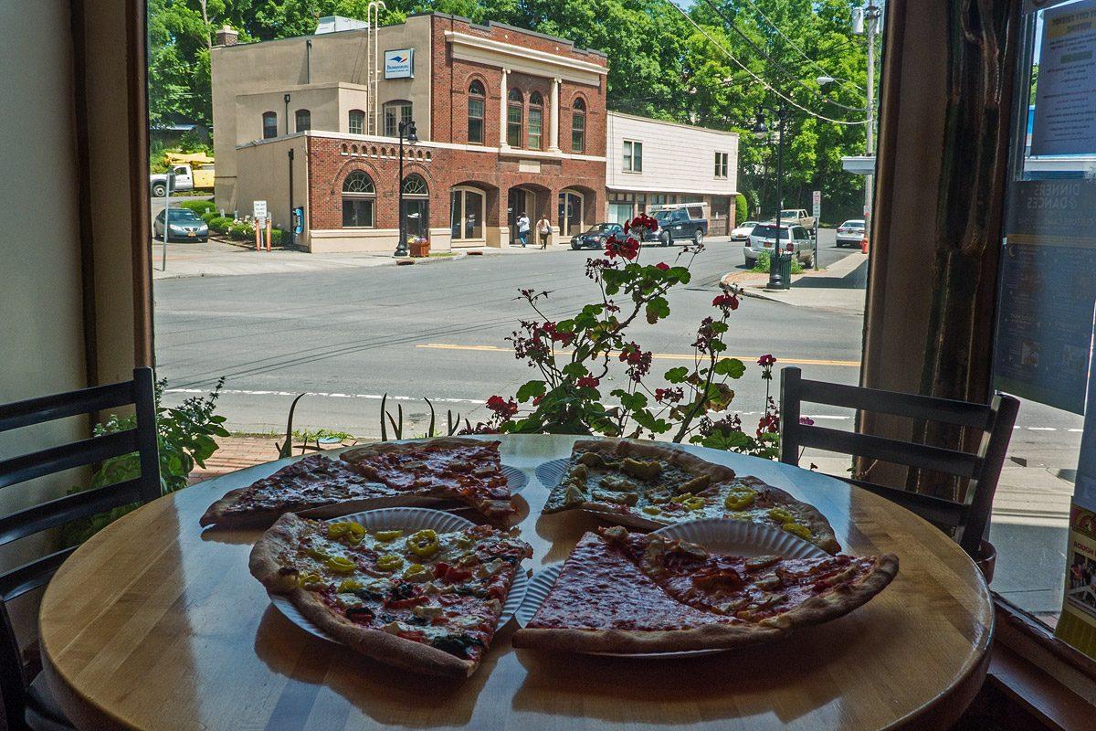 New York Pizza - in einer amerikanischen Kleinstadt