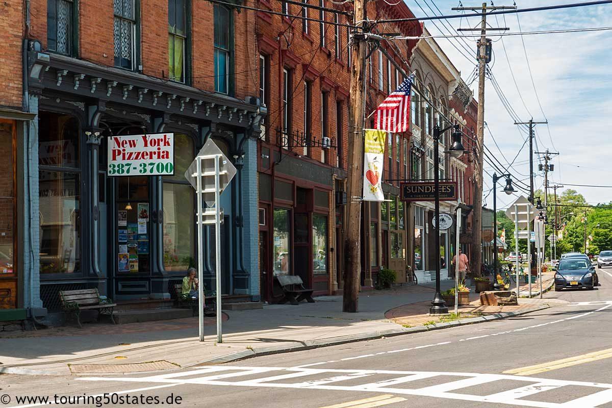 New York Pizza - Main Street Trumansburg, NY