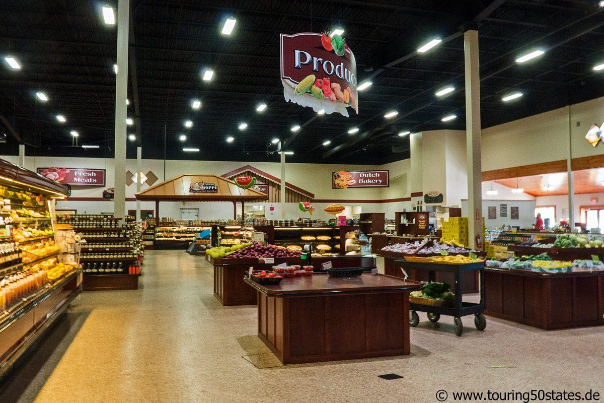 Sauders Country Store in Seneca Falls, NY- eine wohltuende Atmosphäre zum Einkaufen