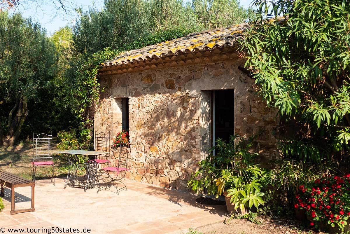 Hofladen der Domaine de l´Olivette in Roquebrune sur Argens