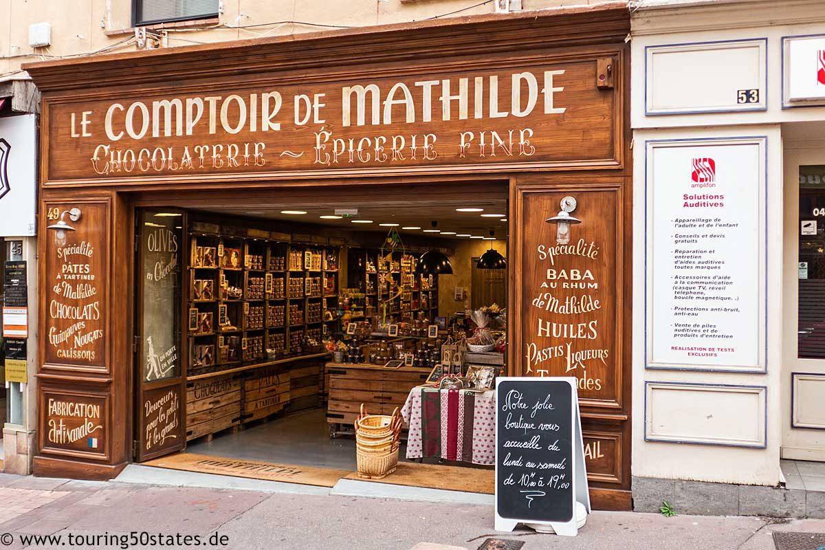Chocolaterie Le Comptoir de Mathilde in Fréjus