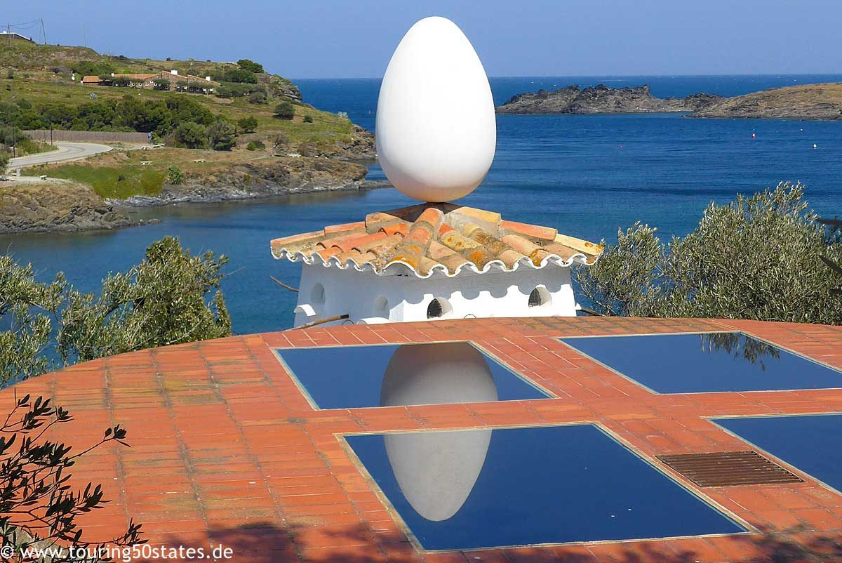 Das Ei auf dem Dach -das ist Dalí