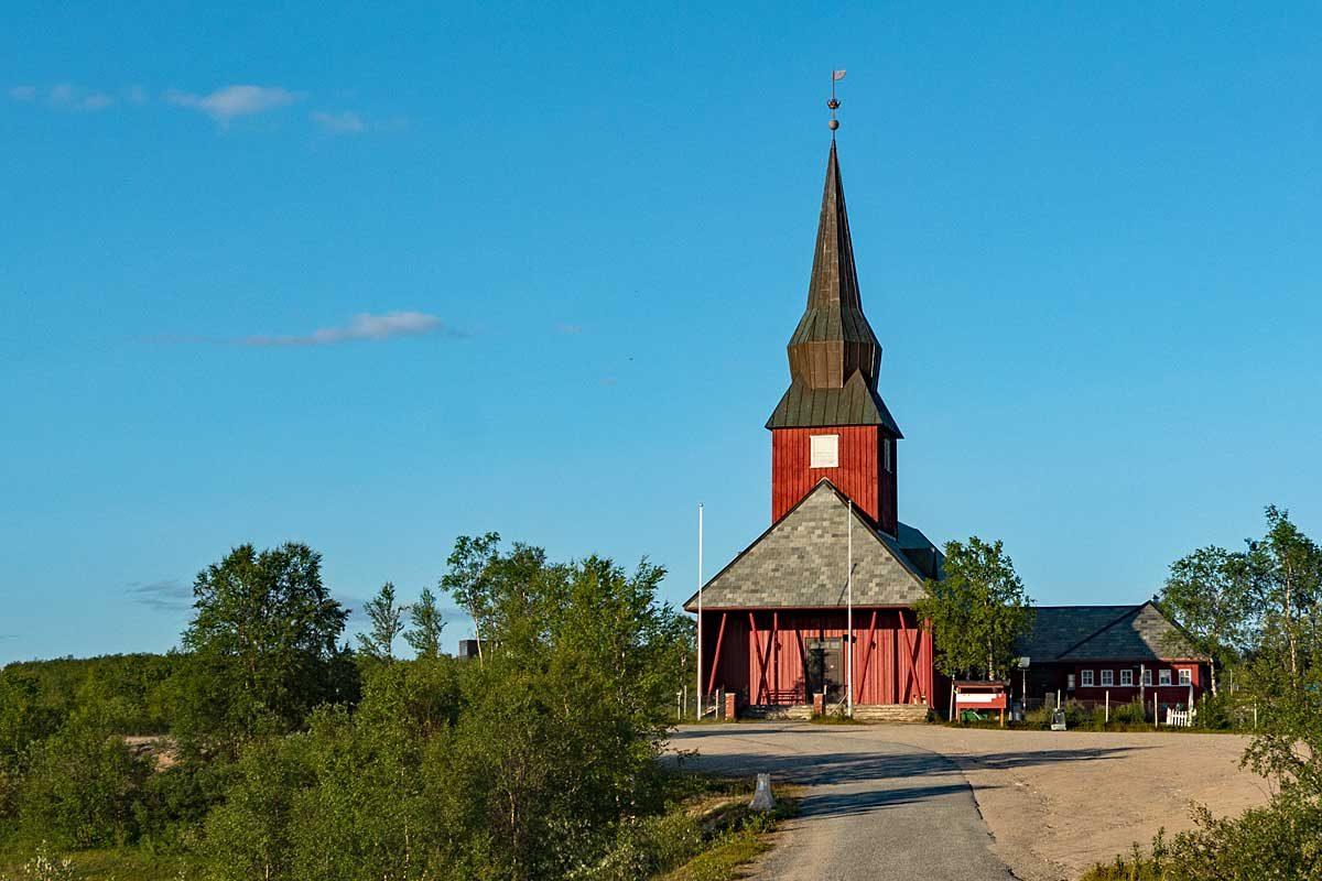 Kirche in Kautokeino
