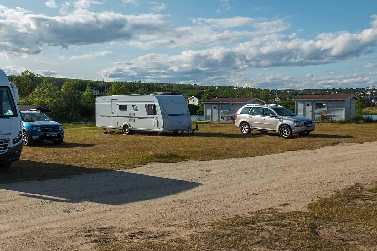 Campingplatz beim Arctic Motell in Kautokeino
