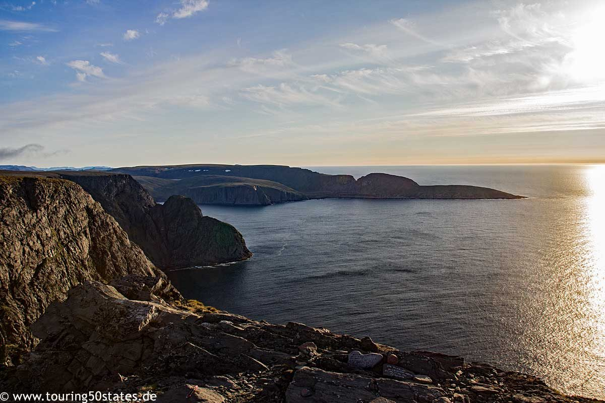 Nordkapp - a view to the west