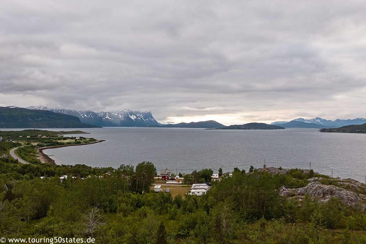 Sekkemo Camping am Kvænangenfjord