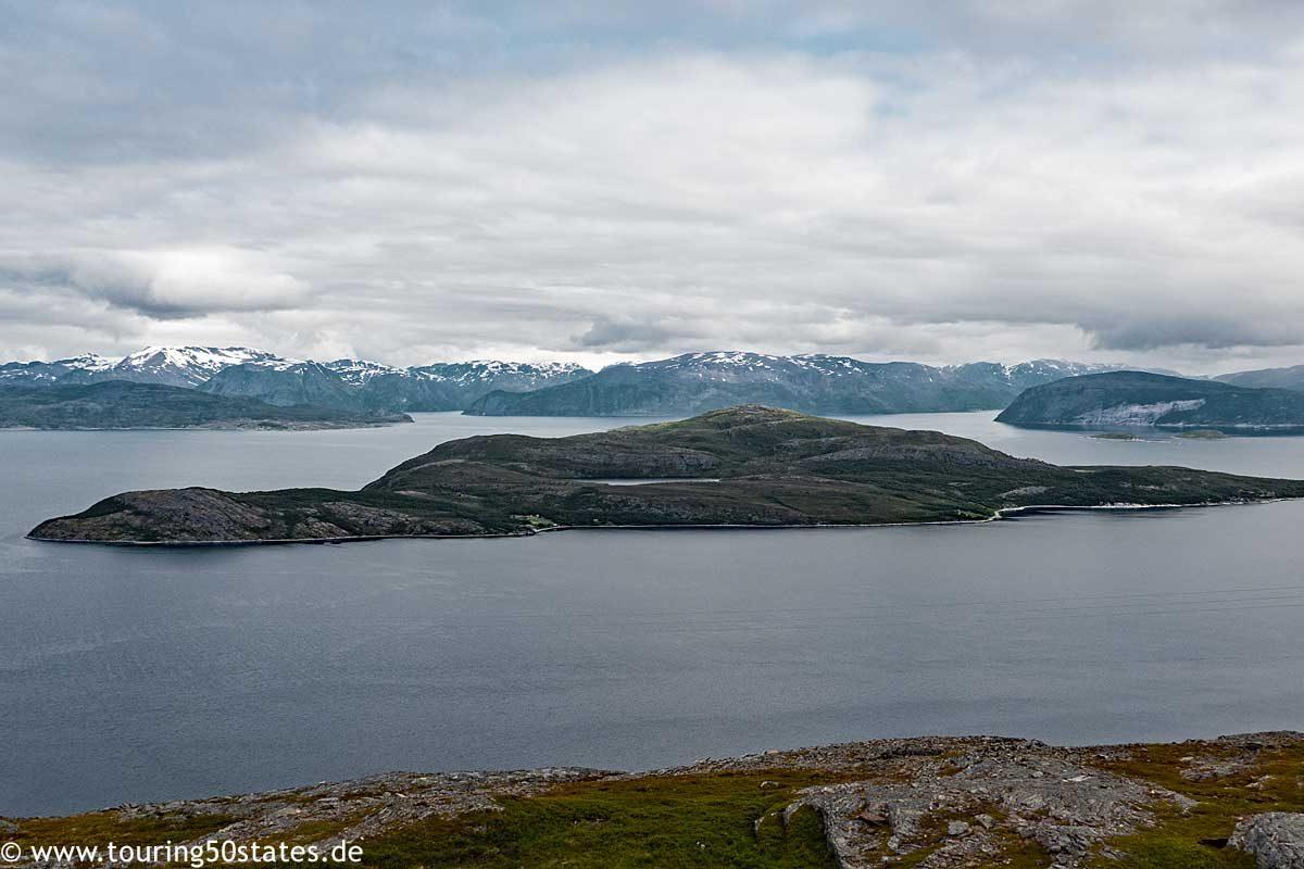 Blick über den Straumfjord