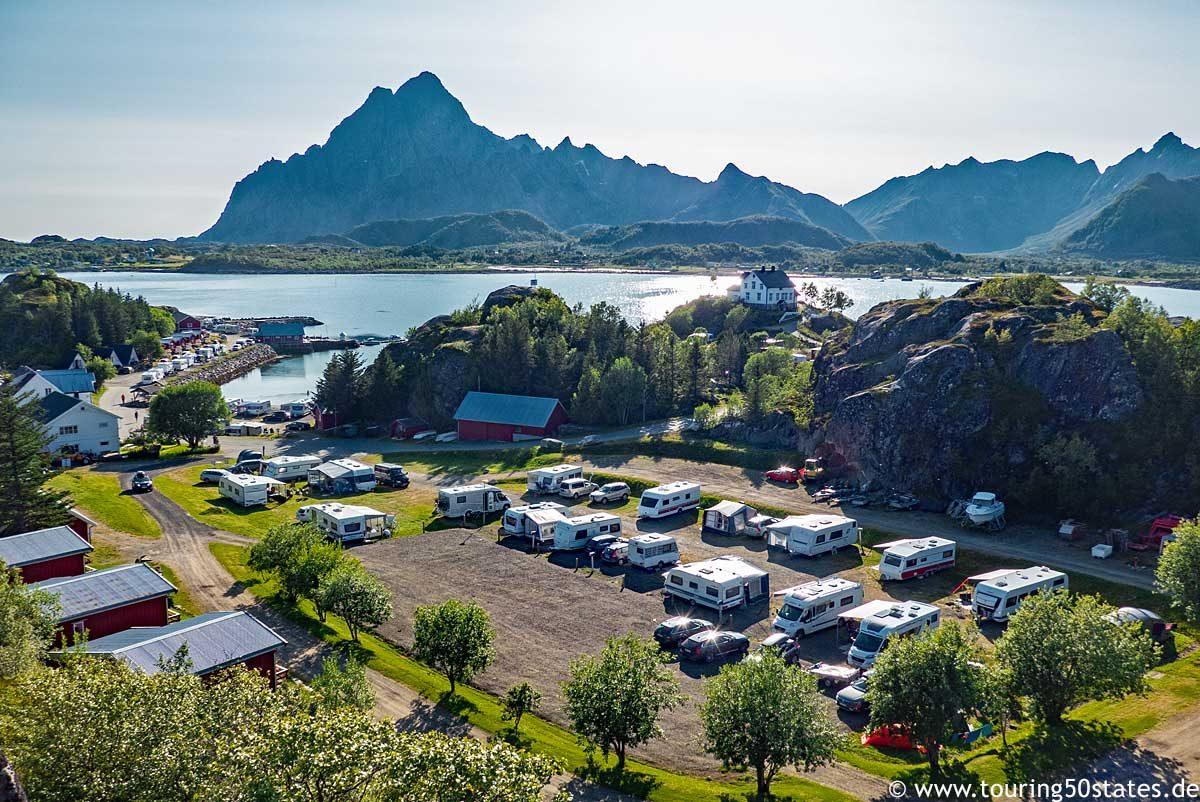 Sandvika Camping in der Nähe von Kabelvåg