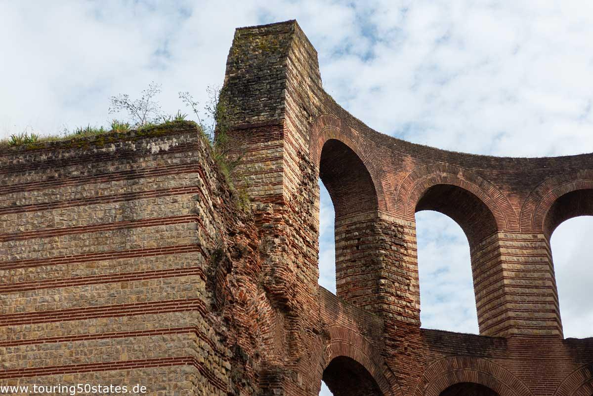 Kaiserthermen in Trier - Zeugnis römischer Lebenart
