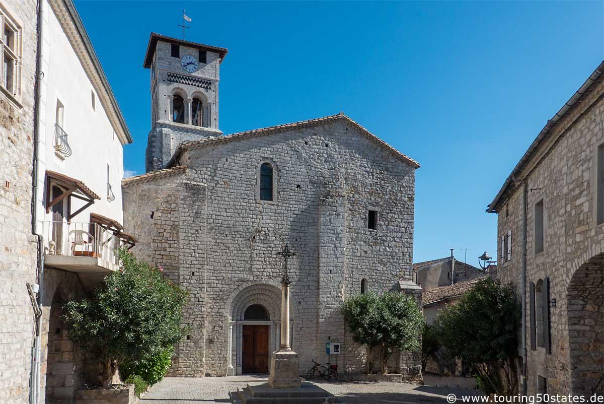 Ruoms - die Kirche Saint-Pierre-aux-Liens