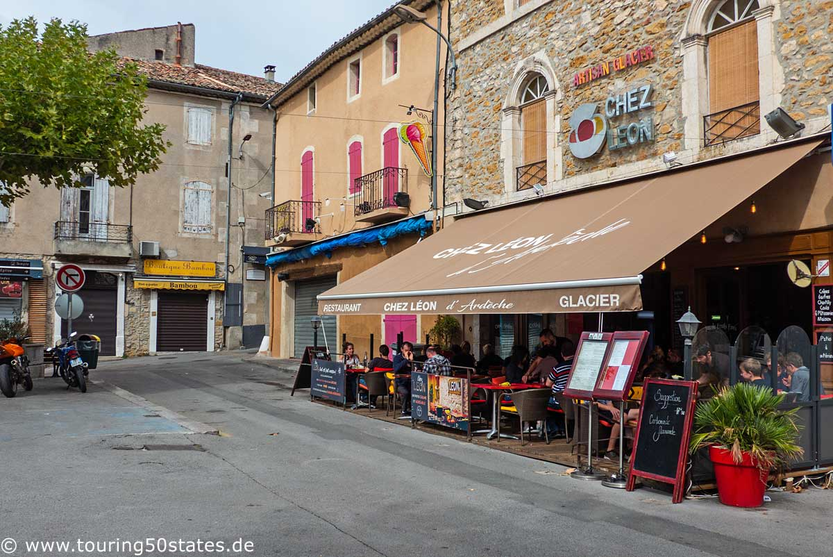 Chez Leon - ein gutes Restaurant in Vallon Pont d`Arc
