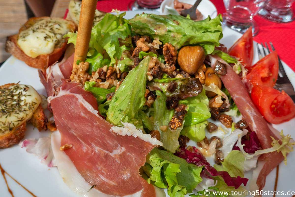 Salade Ardéchoise - ein regionales Gericht